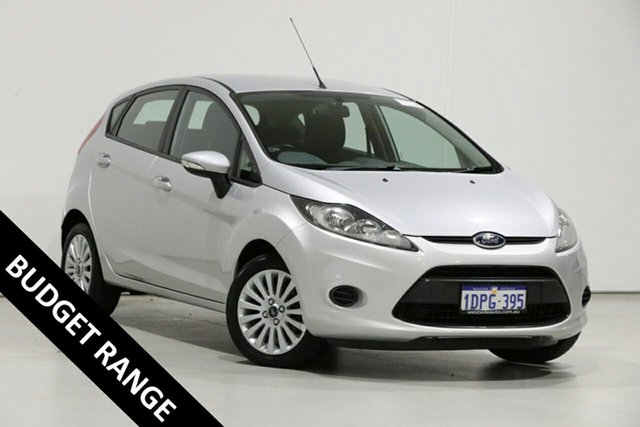 Used Ford Fiesta WT LX, 2010 Ford Fiesta WT LX Silver 5 Speed Manual Hatchback