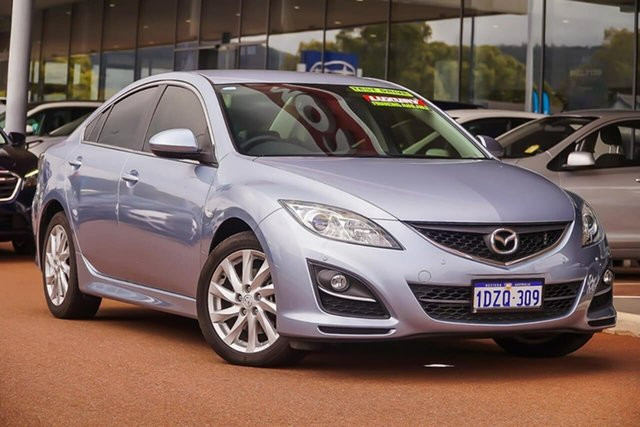 Used Mazda 6 GH1052 MY12 Touring, 2012 Mazda 6 GH1052 MY12 Touring Blue 5 Speed Sports Automatic Sedan