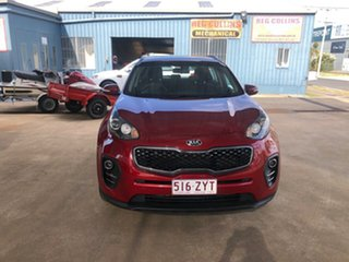 2016 Kia Sportage QL MY16 SI (AWD) Red 6 Speed Automatic Wagon