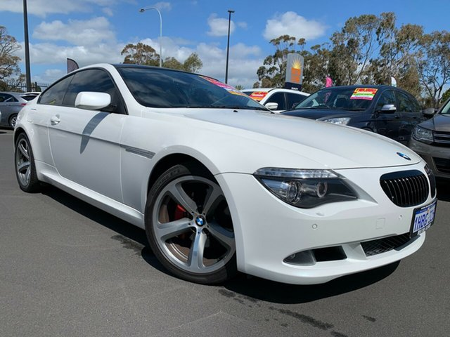 Used BMW 6 Series E63 MY08 650i Steptronic, 2008 BMW 6 Series E63 MY08 650i Steptronic White 6 Speed Sports Automatic Coupe