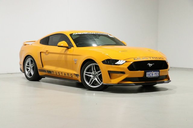 Used Ford Mustang FN Fastback GT 5.0 V8, 2018 Ford Mustang FN Fastback GT 5.0 V8 Orange 6 Speed Manual Coupe