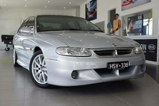 1998 Holden Special Vehicles Senator VT Signature 220I Silver 6 Speed Manual Sedan.