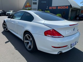 2008 BMW 6 Series E63 MY08 650i Steptronic White 6 Speed Sports Automatic Coupe.