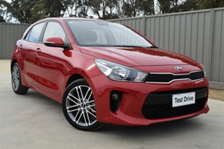 2018 Kia Rio YB MY19 Sport Signal Red 6 Speed Automatic Hatchback.