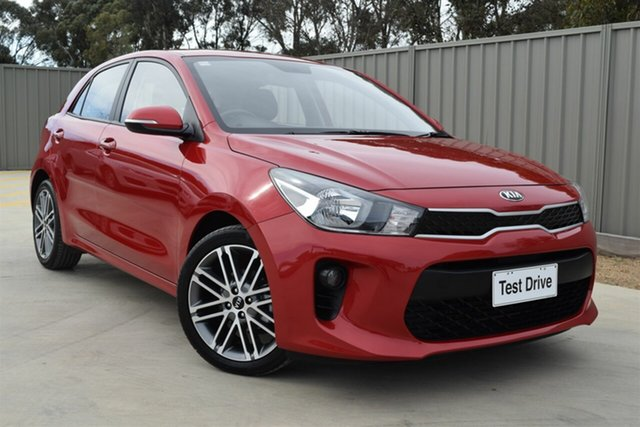 Used Kia Rio YB MY19 Sport, 2018 Kia Rio YB MY19 Sport Signal Red 6 Speed Automatic Hatchback