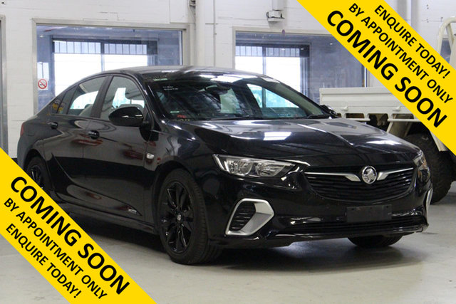 Used Holden Commodore ZB MY19.5 RS, 2019 Holden Commodore ZB MY19.5 RS Black 9 Speed Automatic Liftback