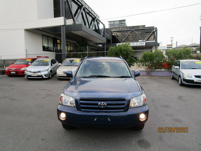 Used Toyota Kluger MCU28R CVX (4x4) Coorparoo, 2004 Toyota Kluger MCU28R CVX (4x4) Blue 5 Speed Automatic Wagon
