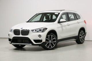 2019 BMW X1 F48 LCI xDrive 25I White 8 Speed Automatic Wagon.