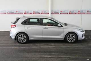 2017 Hyundai i30 GD4 Series 2 Update Active X Silver 6 Speed Automatic Hatchback