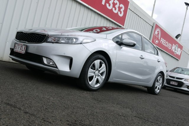 Used Kia Cerato YD MY18 S, 2017 Kia Cerato YD MY18 S Silver 6 Speed Sports Automatic Sedan
