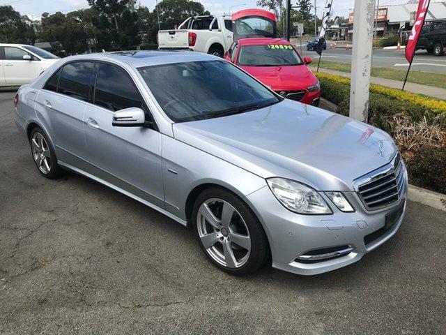 Used Mercedes-Benz E-Class W212 MY12 E250 BlueEFFICIENCY 7G-Tronic + Avantgarde, 2011 Mercedes-Benz E-Class W212 MY12 E250 BlueEFFICIENCY 7G-Tronic + Avantgarde Silver 7 Speed