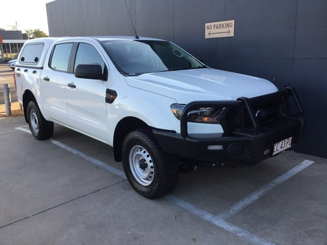 Used Ford Ranger PX MkII XL, 2016 Ford Ranger PX MkII XL White 6 Speed Manual Utility