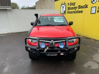 2014 Mitsubishi Triton MN MY15 GLX Double Cab Red 5 Speed Manual Utility.