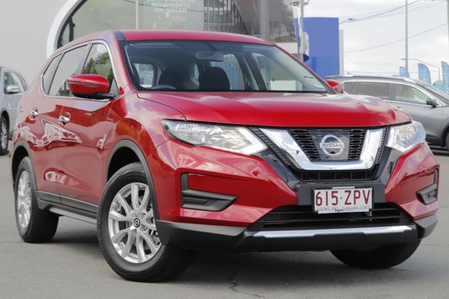 Used Nissan X-Trail T32 Series II ST X-tronic 2WD, 2020 Nissan X-Trail T32 Series II ST X-tronic 2WD Red 7 Speed Constant Variable Wagon