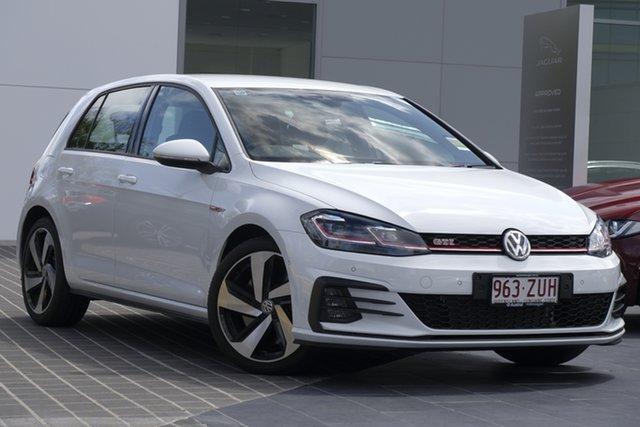 Demo Volkswagen Golf 7.5 MY20 GTI DSG Newstead, 2020 Volkswagen Golf 7.5 MY20 GTI DSG Pure White 7 Speed Sports Automatic Dual Clutch Hatchback