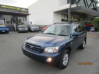 2004 Toyota Kluger MCU28R CVX (4x4) Blue 5 Speed Automatic Wagon.