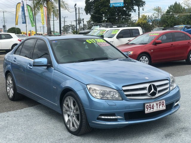 Used Mercedes-Benz C-Class W204 MY10 C250 CGI Avantgarde, 2010 Mercedes-Benz C-Class W204 MY10 C250 CGI Avantgarde Blue 5 Speed Sports Automatic Sedan