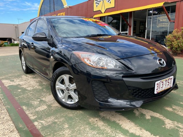 Used Mazda 3 BL10F2 MY13 Neo Activematic Toowoomba, 2013 Mazda 3 BL10F2 MY13 Neo Activematic Black 5 Speed Sports Automatic Sedan