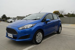 2017 Ford Fiesta WZ Ambiente PwrShift Blue 6 Speed Auto Hatchback