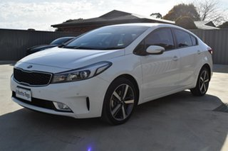 2018 Kia Cerato YD MY18 Sport Clear White 6 Speed Sports Automatic Sedan