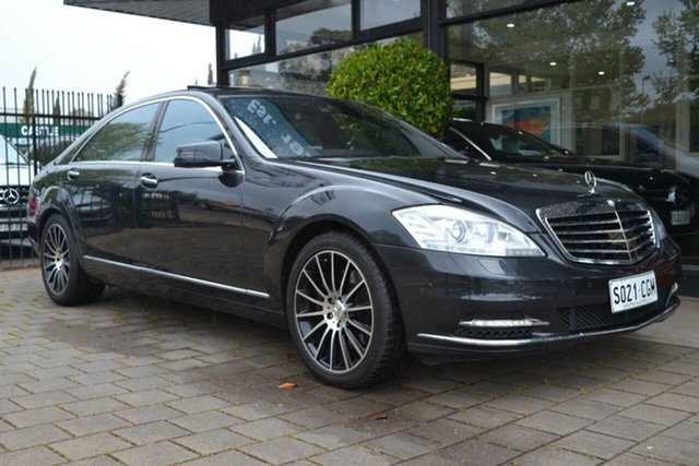 Used Mercedes-Benz S-Class V221 MY11 S500 BlueEFFICIENCY L 7G-Tronic +, 2012 Mercedes-Benz S-Class V221 MY11 S500 BlueEFFICIENCY L 7G-Tronic + Grey 7 Speed Sports Automatic