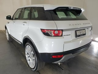2014 Land Rover Range Rover Evoque L538 MY14 TD4 Pure White 9 Speed Sports Automatic Wagon