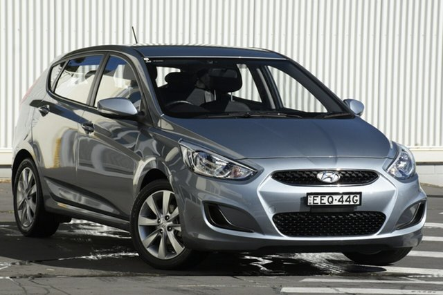 Used Hyundai Accent RB6 MY19 Sport, 2018 Hyundai Accent RB6 MY19 Sport Grey 6 Speed Sports Automatic Hatchback