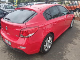 2013 Holden Cruze JH Series II MY13 SRi-V Red 6 Speed Sports Automatic Hatchback