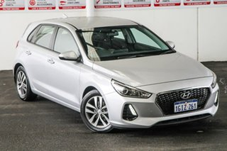 2017 Hyundai i30 GD4 Series 2 Update Active X Silver 6 Speed Automatic Hatchback.