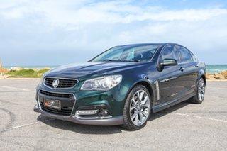 2013 Holden Commodore VF MY14 SS V Green 6 Speed Sports Automatic Sedan.