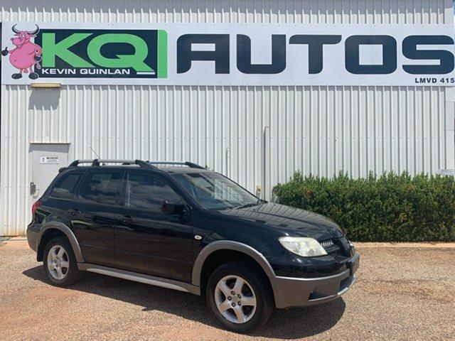 Used Mitsubishi Outlander  , 2004 Mitsubishi Outlander Black Wagon