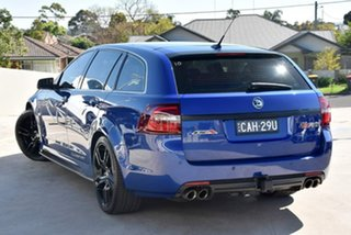 2016 Holden Special Vehicles ClubSport Gen-F2 MY16 R8 Tourer LSA Slipstream Blue 6 Speed.
