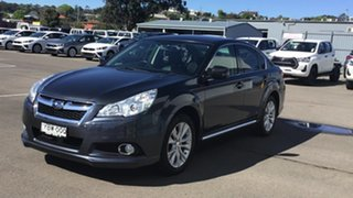2012 Subaru Liberty B5 MY13 2.5X Lineartronic AWD Grey 6 Speed Constant Variable Sedan