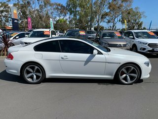 2008 BMW 6 Series E63 MY08 650i Steptronic White 6 Speed Sports Automatic Coupe