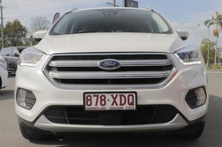 2017 Ford Escape ZG Titanium White Platinum 6 Speed Sports Automatic SUV