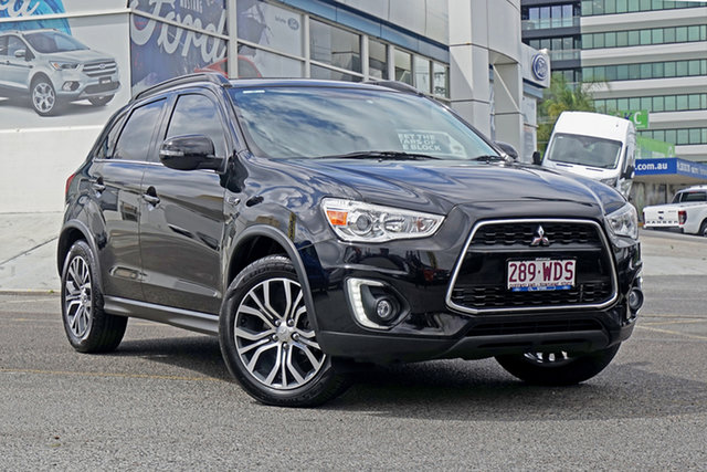 Used Mitsubishi ASX XB MY15 XLS 2WD, 2015 Mitsubishi ASX XB MY15 XLS 2WD Black 6 Speed Constant Variable Wagon