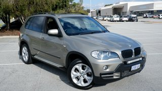 2007 BMW X5 E70 d Steptronic Gold 6 Speed Sports Automatic Wagon.