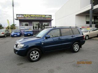 2004 Toyota Kluger MCU28R CVX (4x4) Blue 5 Speed Automatic Wagon