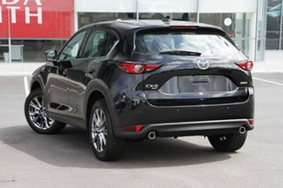 2020 Mazda CX-5 KF4WLA Akera SKYACTIV-Drive i-ACTIV AWD Jet Black 6 Speed Sports Automatic Wagon.