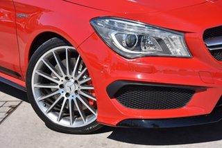 2015 Mercedes-Benz CLA-Class C117 806MY CLA45 AMG SPEEDSHIFT DCT 4MATIC Jupiter Red 7 Speed