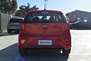 2018 Kia Picanto JA MY19 GT-Line Signal Red 4 Speed Automatic Hatchback