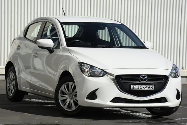Used Mazda 2 DJ2HA6 Neo SKYACTIV-MT, 2017 Mazda 2 DJ2HA6 Neo SKYACTIV-MT White 6 Speed Manual Hatchback