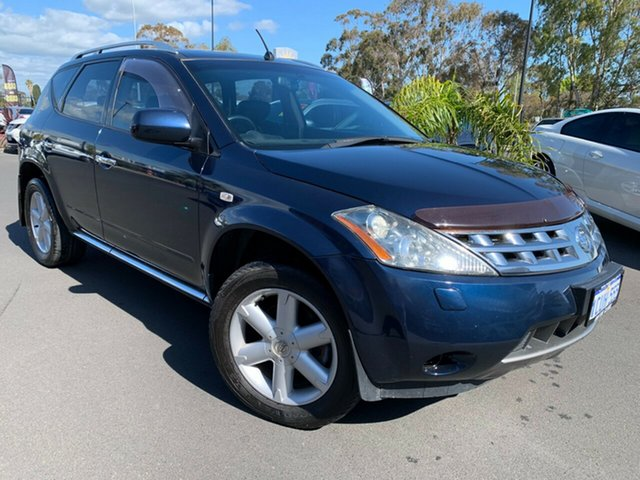Used Nissan Murano Z50 TI, 2008 Nissan Murano Z50 TI Blue 6 Speed Constant Variable Wagon