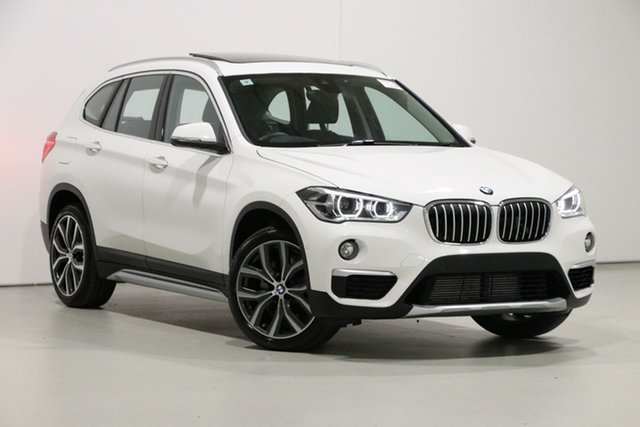 Used BMW X1 F48 LCI xDrive 25I, 2019 BMW X1 F48 LCI xDrive 25I White 8 Speed Automatic Wagon