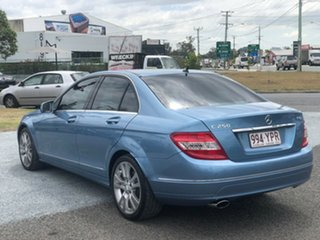 2010 Mercedes-Benz C-Class W204 MY10 C250 CGI Avantgarde Blue 5 Speed Sports Automatic Sedan