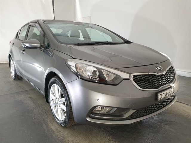 Used Kia Cerato YD MY15 S Premium, 2015 Kia Cerato YD MY15 S Premium Grey 6 Speed Sports Automatic Sedan