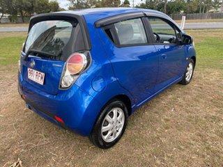 2010 Holden Barina TK MY11 Blue Hatchback