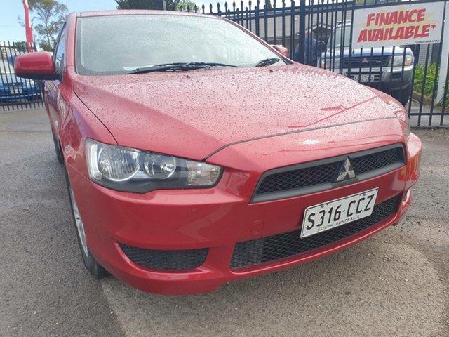 Used Mitsubishi Lancer CJ MY09 ES Sportback, 2009 Mitsubishi Lancer CJ MY09 ES Sportback Red 6 Speed Constant Variable Hatchback