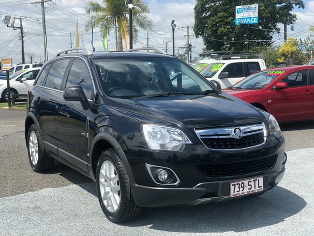 Used Holden Captiva CG Series II 5, 2012 Holden Captiva CG Series II 5 Black 6 Speed Sports Automatic Wagon