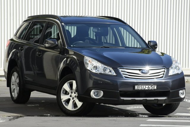 Used Subaru Outback B5A MY10 2.5i Lineartronic AWD Premium, 2010 Subaru Outback B5A MY10 2.5i Lineartronic AWD Premium Grey 6 Speed Constant Variable Wagon